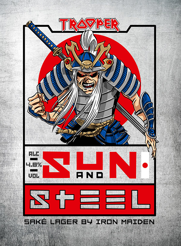 Iron Maiden Sun And Steel