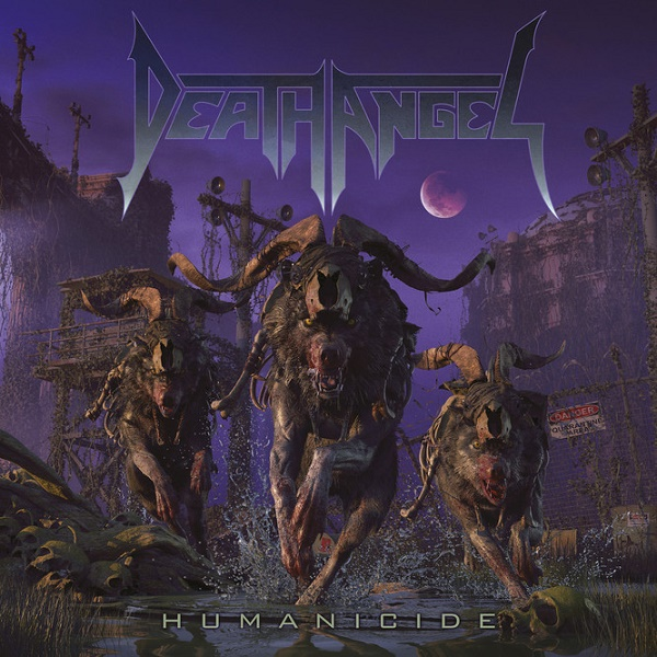 Death Angel Humanicide Albumcover 2019