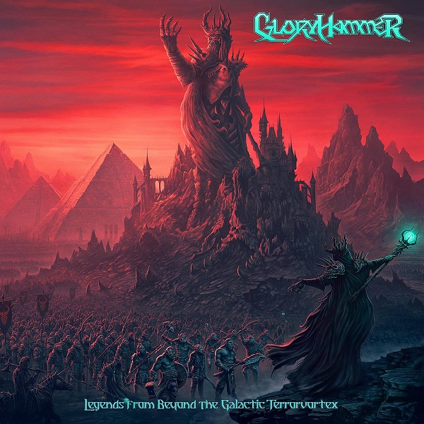 Gloryhammer - Legends From Beyond The Galactic Terrorvortex Albumcover