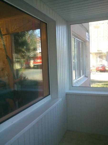 Обшив фасада, потолка, внутренний обшив подоконника. Цена за обшив - 11800 руб