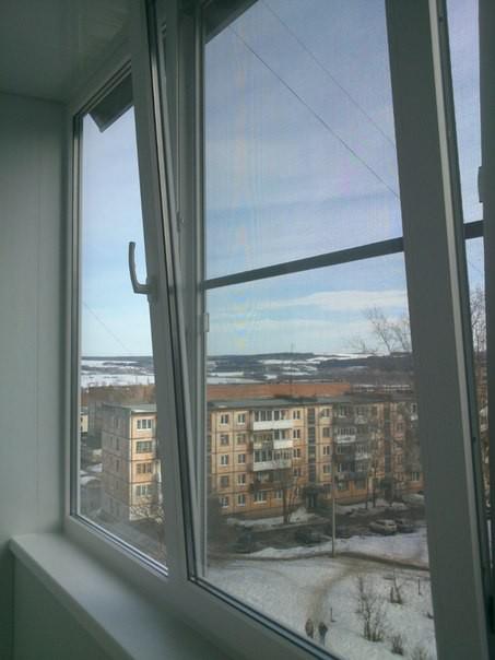 Остекление балкона без обшива з м. Цена - 11770 руб