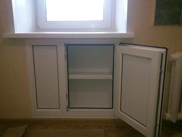 Изготовление и монтаж хрущевского холодильника под ключ - 6000 руб