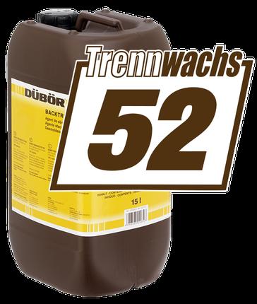 Backtrennmittel DÜBÖR Trennwachs 52
