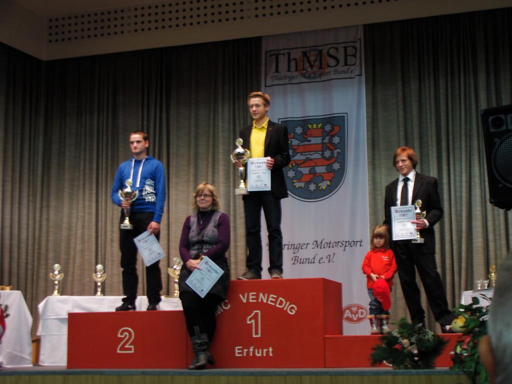 die Altersklasse 6 - Markus Kurstedt wurde 1. Platz