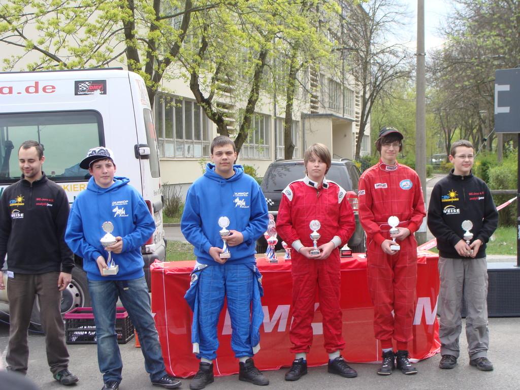 Siegerehrung Oliver Vogel (5. Platz)