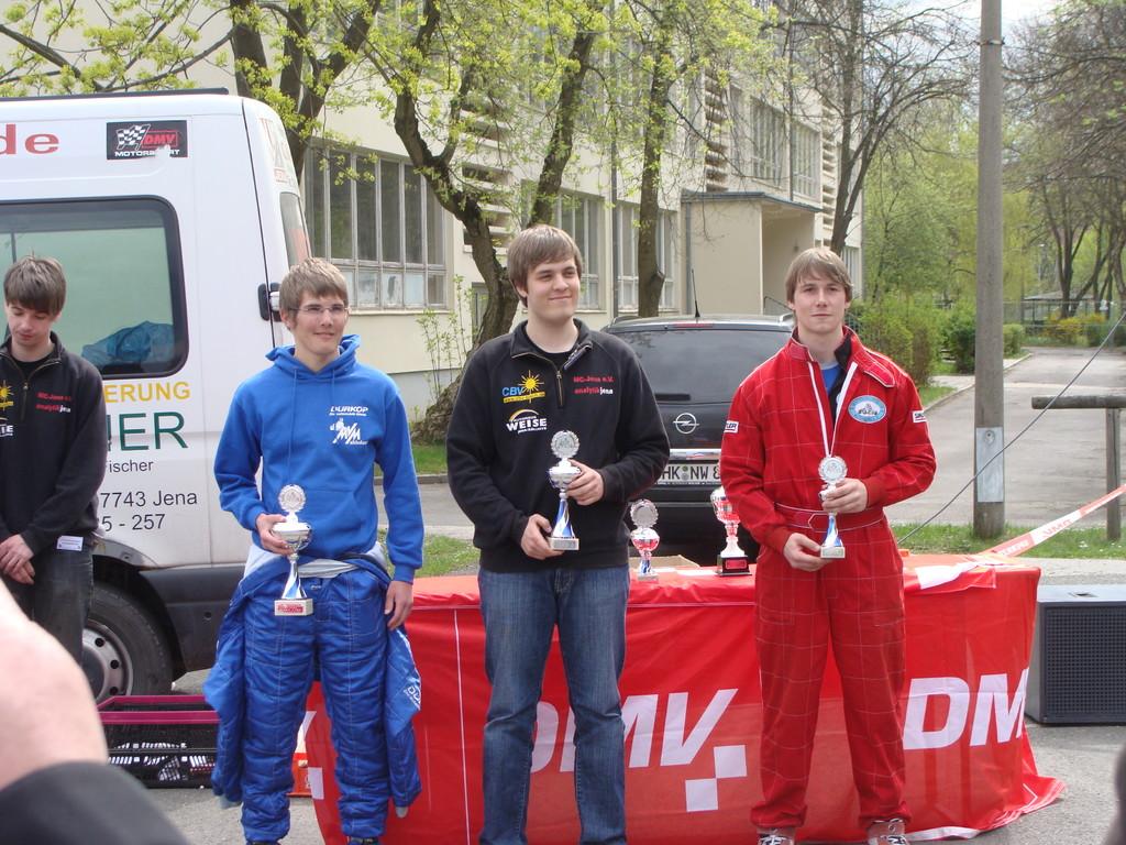 Siegerehrung Andreas Prautsch (3.Platz)