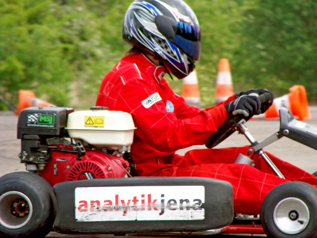 Andreas Prautsch fuhr erneut schnellste Zwischenzeit.