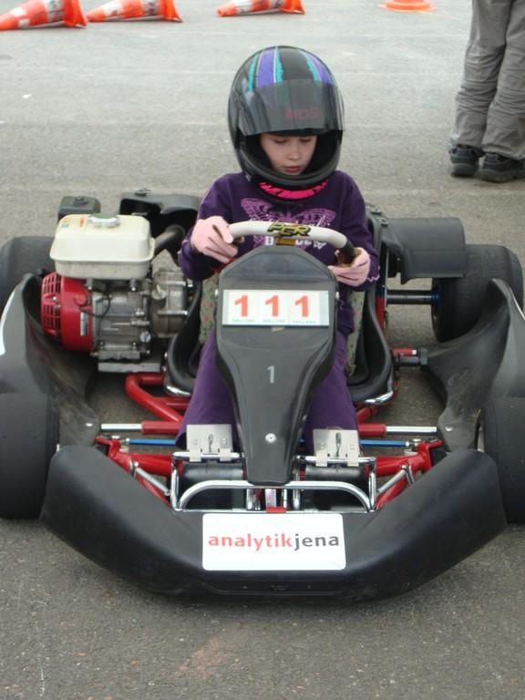 Die 1. Kart-Saison für Denise Neumann
