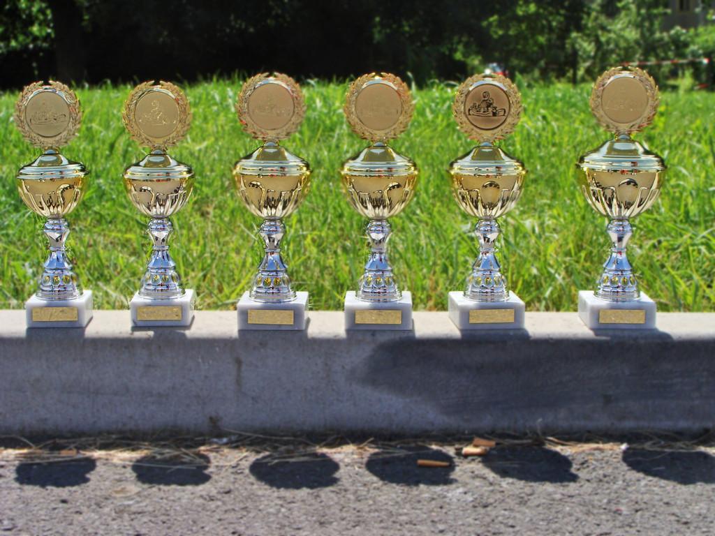volle Aubeute (6 aus 6 mit Mannschaft und Fahrern in jeweils 2 Rennen)