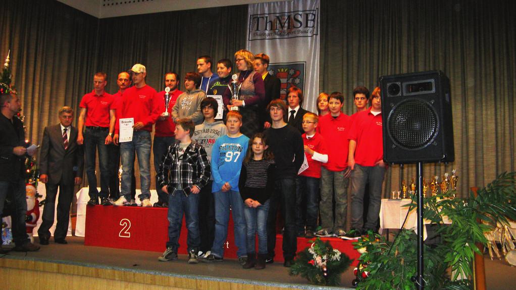 Mannschaftswertung; MC Altenburg wurde 4. Platz