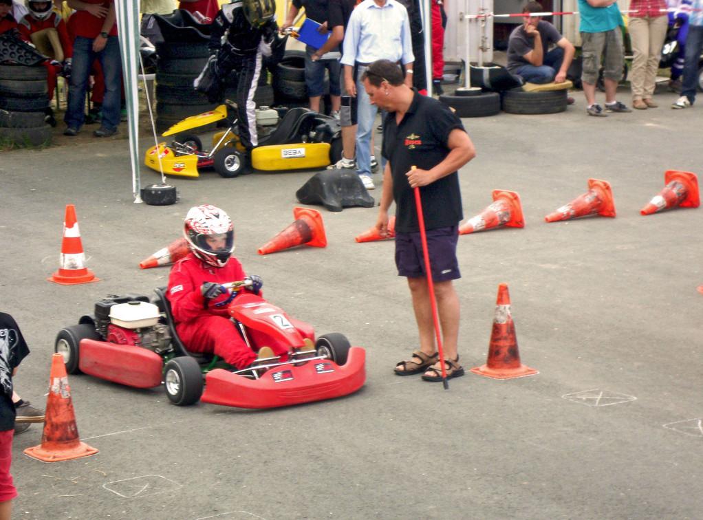 Auch Marcel versuchte seine Gesamtwertung (9. Platz) zu verteidigen.