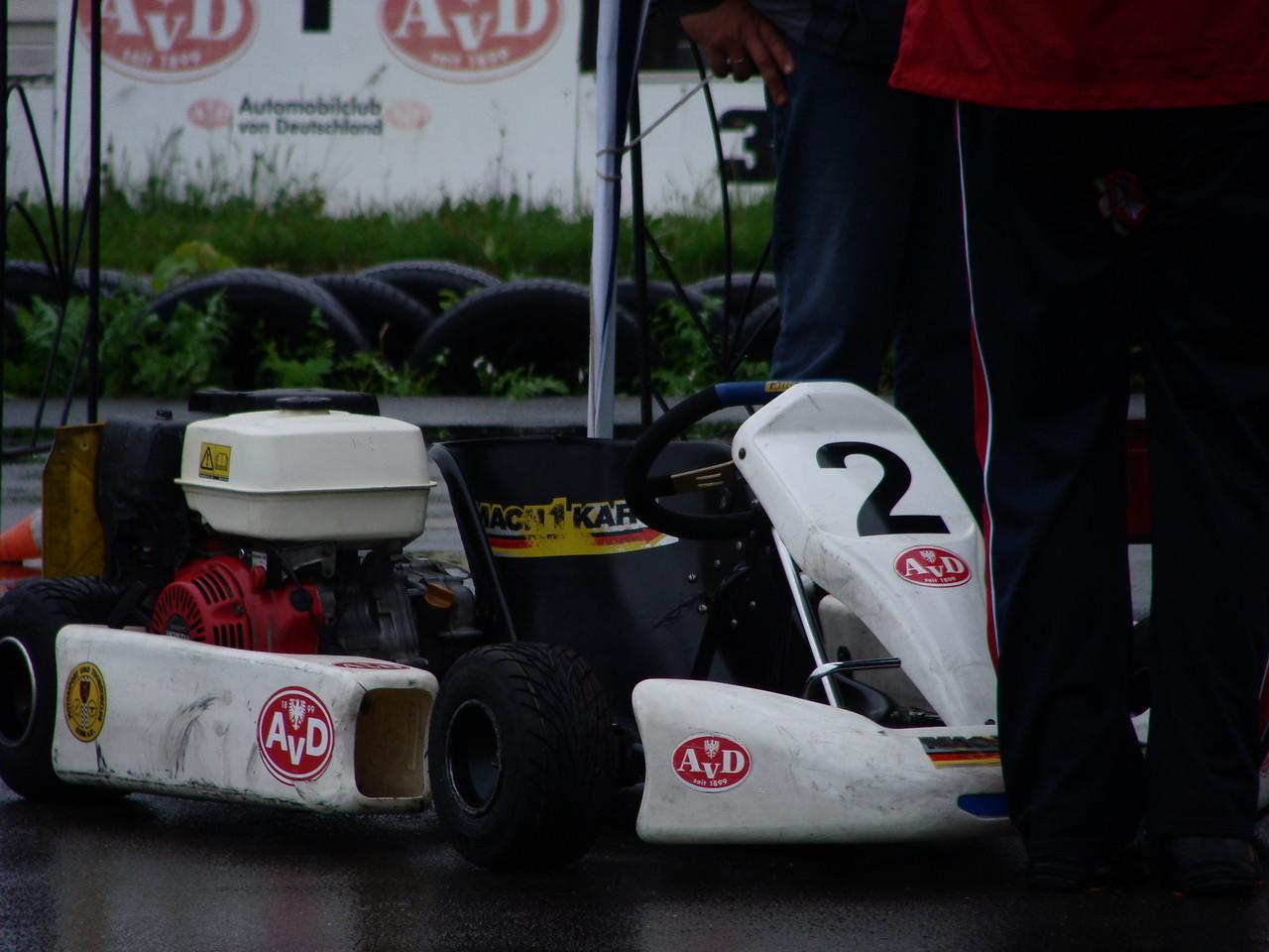 Eines der beiden Wettkampffahrzeuge.