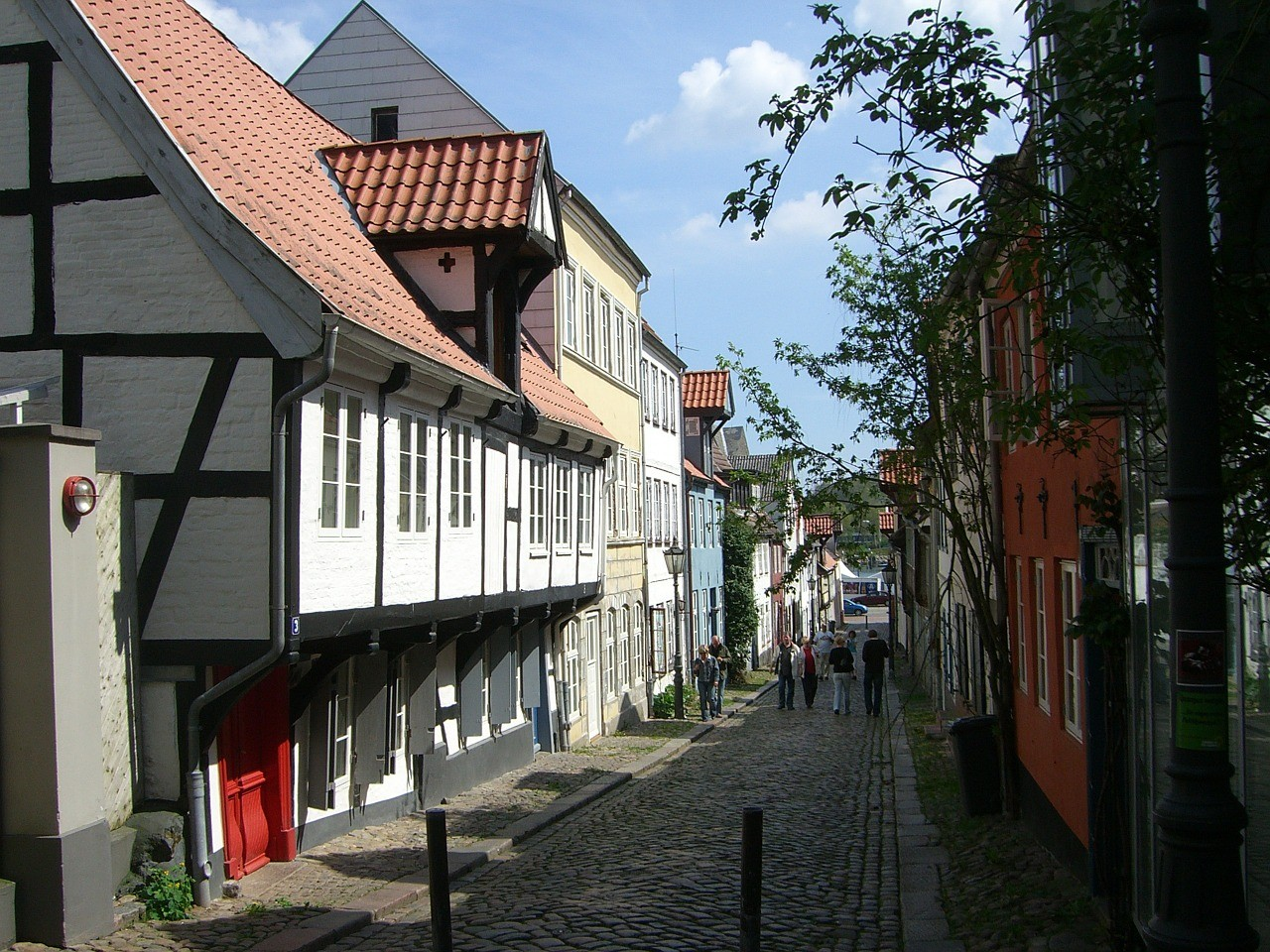 Hinterhof in Flensburg
