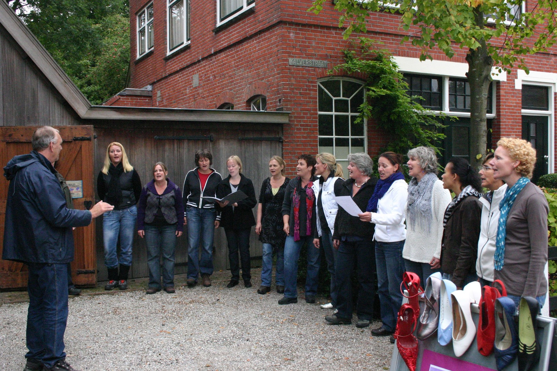 Tocht om de Noord, Warffum, september 2009