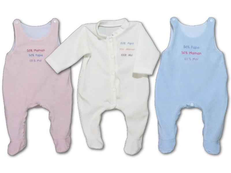 Pyjamas bébé personnalisé