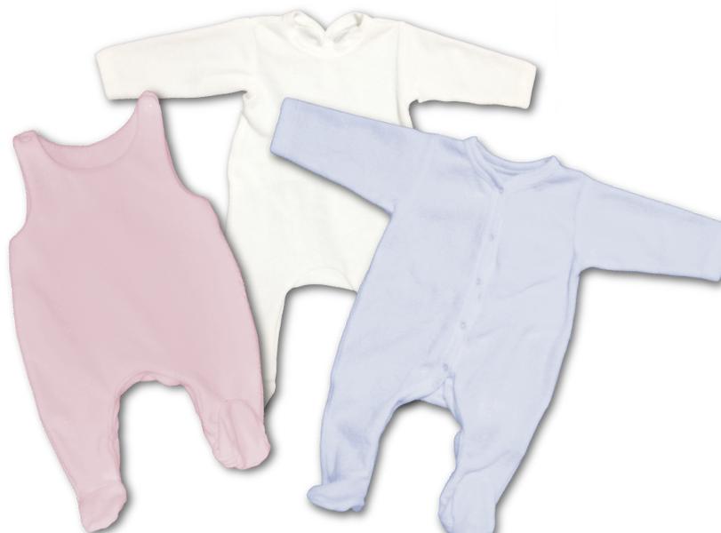 Babygros en velours de coton Oeko-Tex