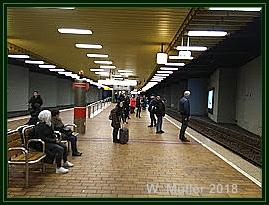 U-Bahn Station Hbf W. Müller