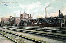 Zeche Alma um 1907