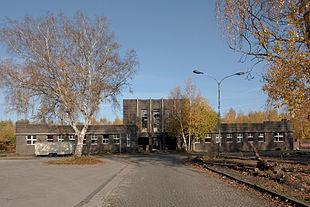Eingang - Verwaltung Kokerei Alma