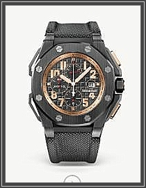 ROYAL OAK OFFSHORE CHRONOGRAPH ARNOLD SCHWARZENEGGER THE LEGACY