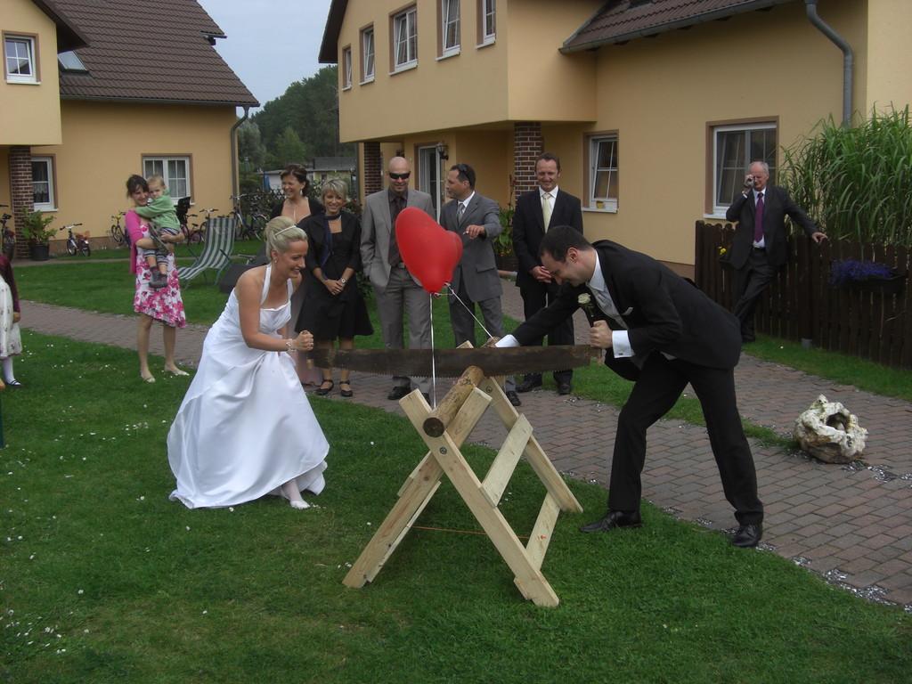 Spiel & Spaß für`s Brautpaar