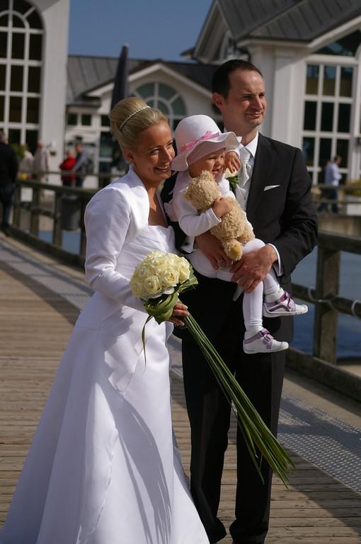 Heiraten auf der Seebrücke in Sellin