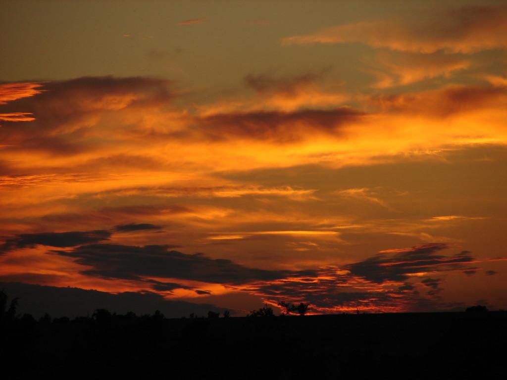 Sonnenuntergang bei Lobbe