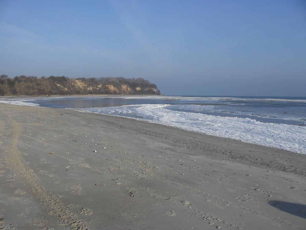Strand von Lobbe, 100m vom Gästehaus