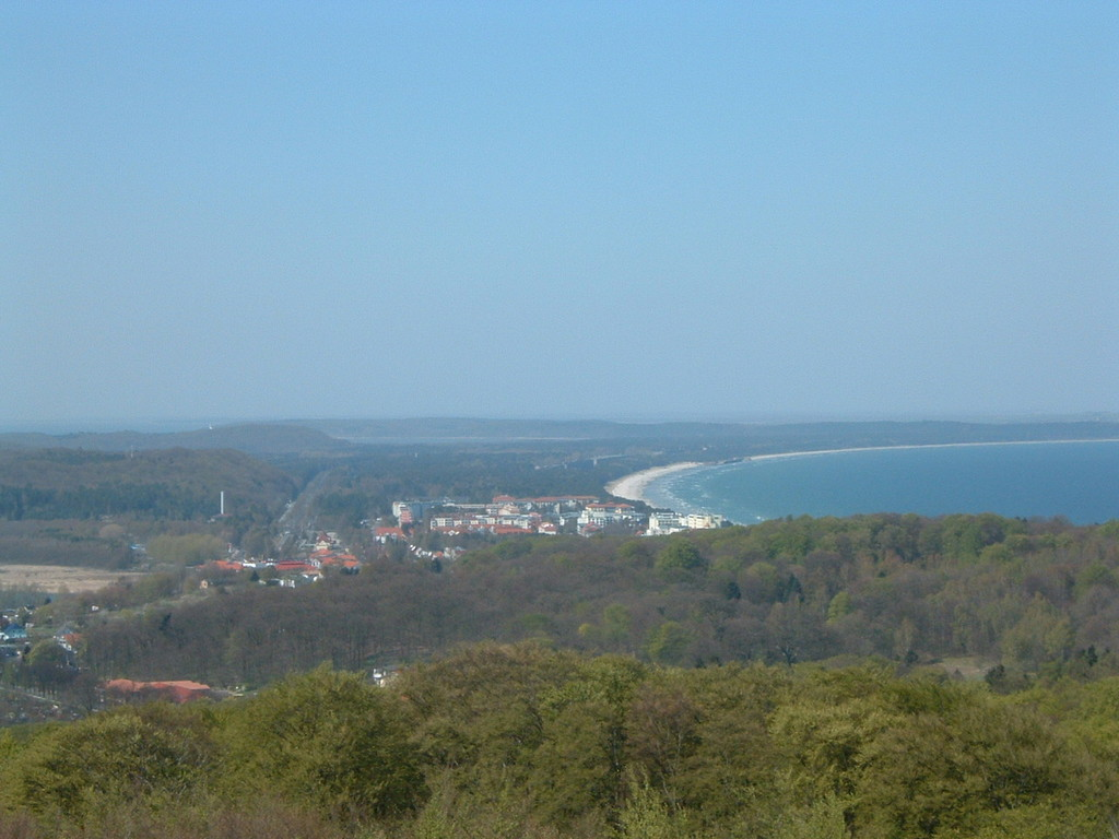 Blick auf die Lobber Bucht
