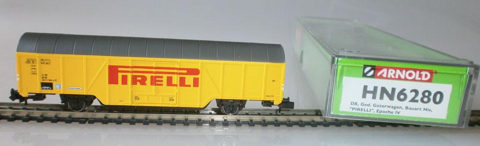 Arnold HN6280 Güterwagen Pirelli Reifen Verpackung