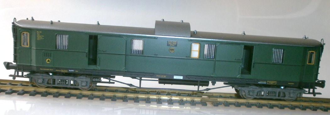 Fleischmann H0 5080 Schnellzug-Gepäckwagen