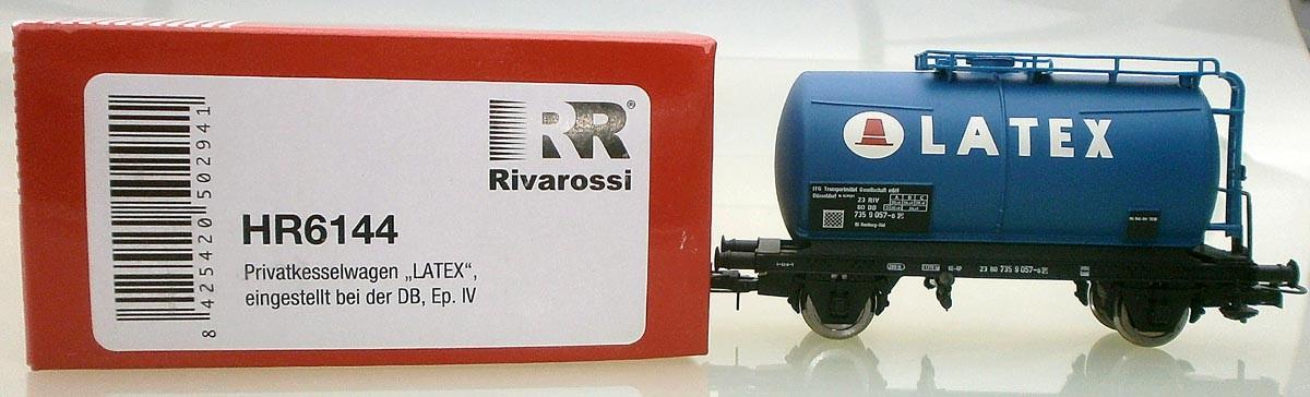 Rivarossi H0 HR6144 ausgepackt