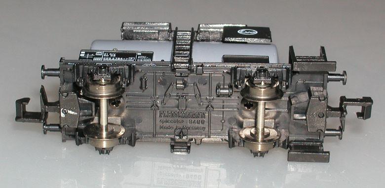 Fleischmann N 8405 Kesselwagen Eva unten