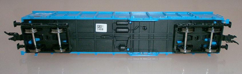 Fleischmann 528311 H0 Hochbordwagen der NS, blau, unten