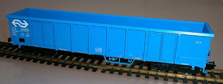 Fleischmann 528311 H0 Hochbordwagen der NS, blau, Seite links