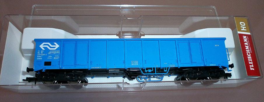 Fleischmann 528311 H0 Hochbordwagen der NS, blau, Verpackung