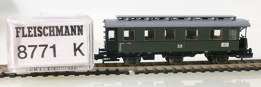 Fleischmann Spur N Personenwagen 8771 K Verpackung