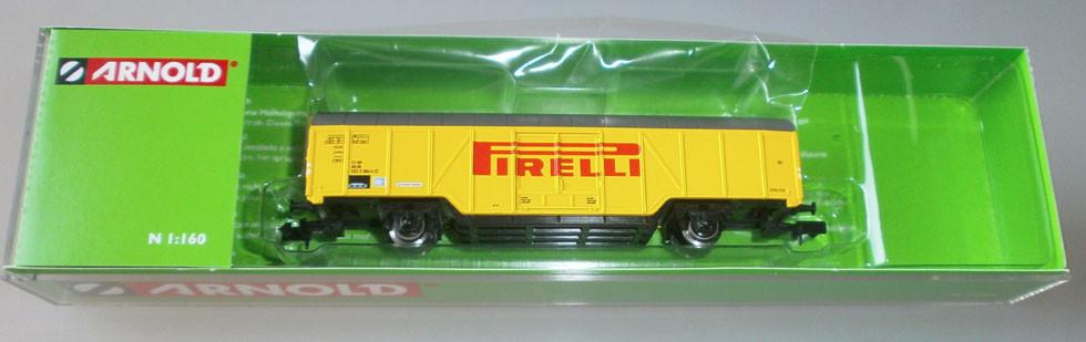 Arnold HN6280 Güterwagen Pirelli Reifen Verpackung offen