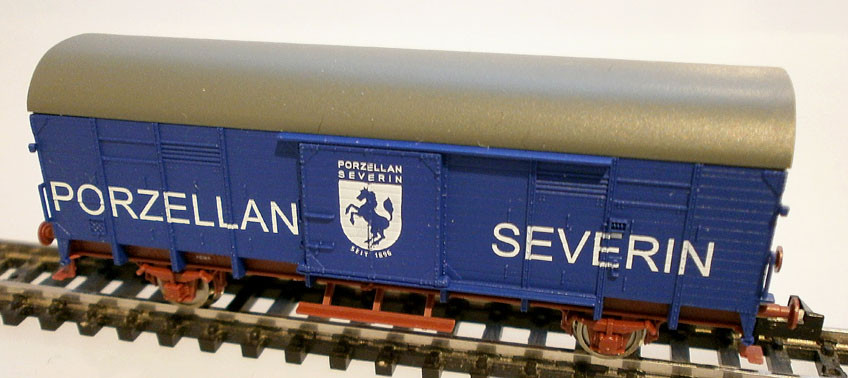 Fleischmann N 831404 Güterwagen Porzellan Severin