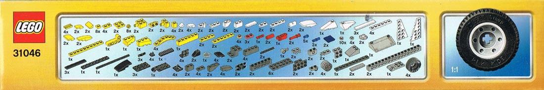 Lego Creator 31046 Einzelteile