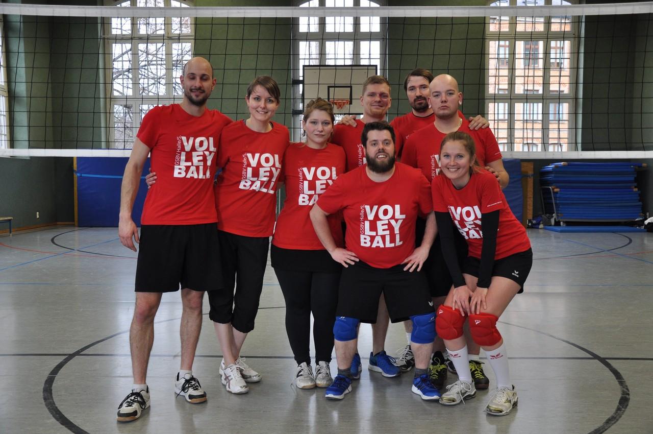 Sächs. Mixed-Volleyballmeisterschaft in Zwickau - GSBV