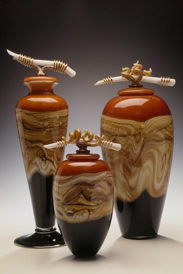 Tangerine Strata Vessels