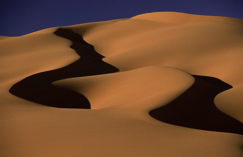Erg Murzuk, Sahara Libyen
