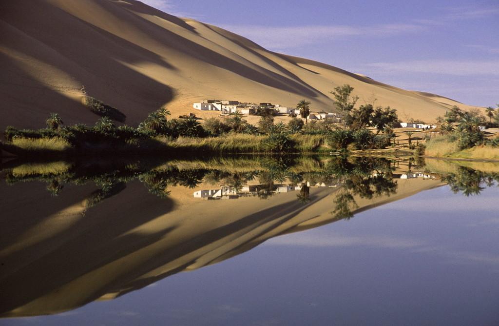 Mandarasee, Sahara Libyen