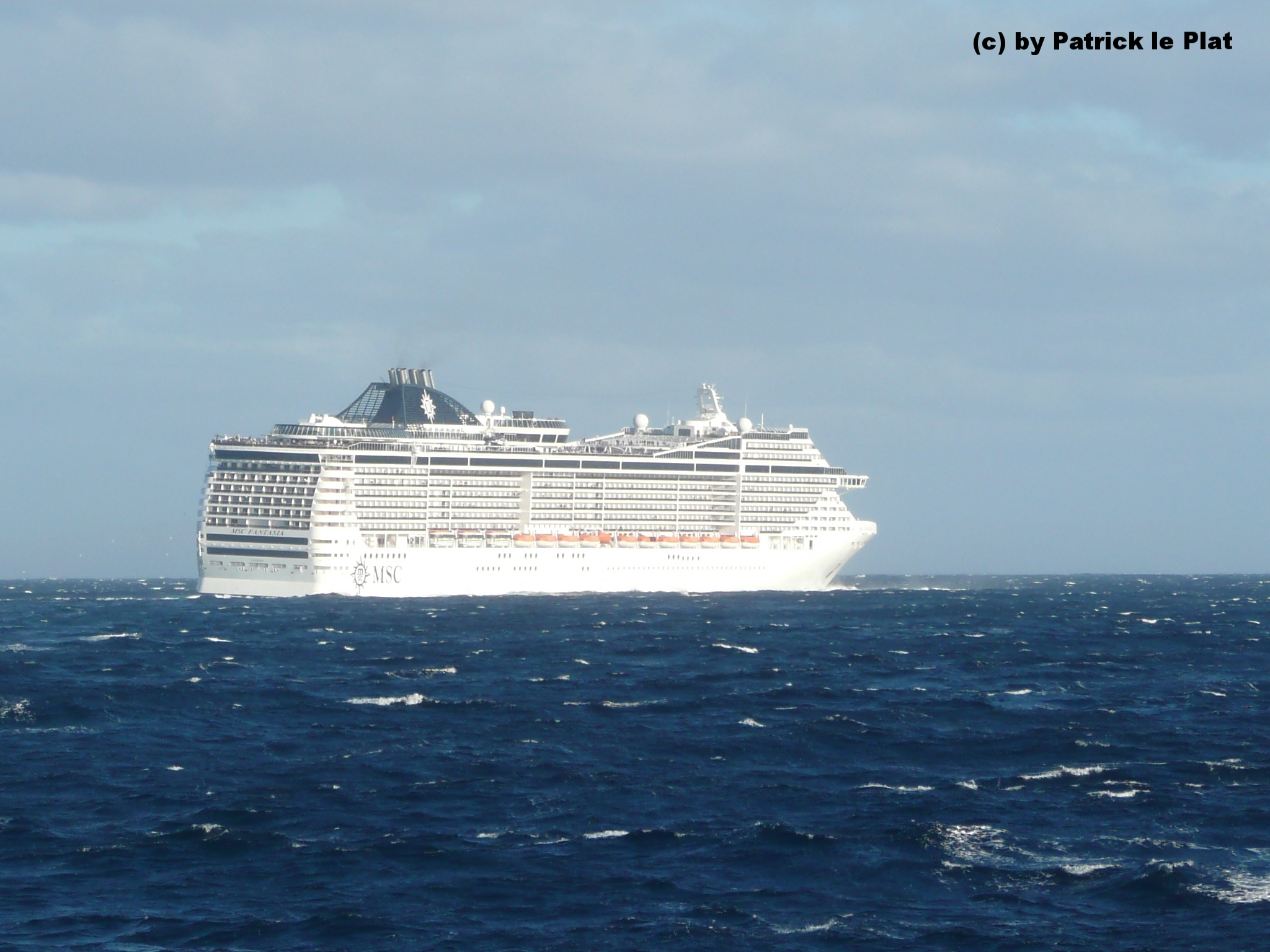 am 05. Februar 2012 vor Funchal (Madeira)
