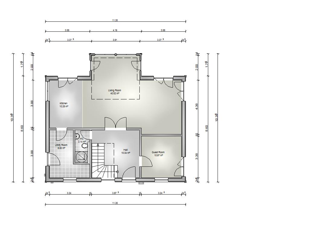 Chestnut 4 Bedrooms Stommel Haus Uk