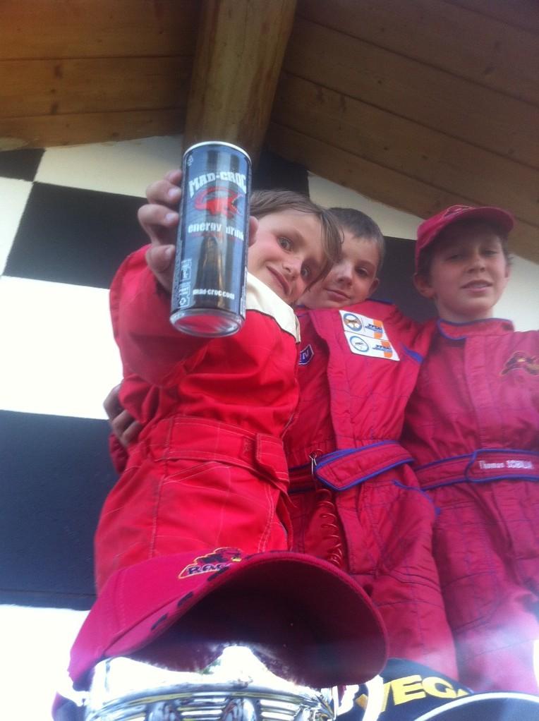 notre TEAM RACE KIDS  tourne au MAD-CROC