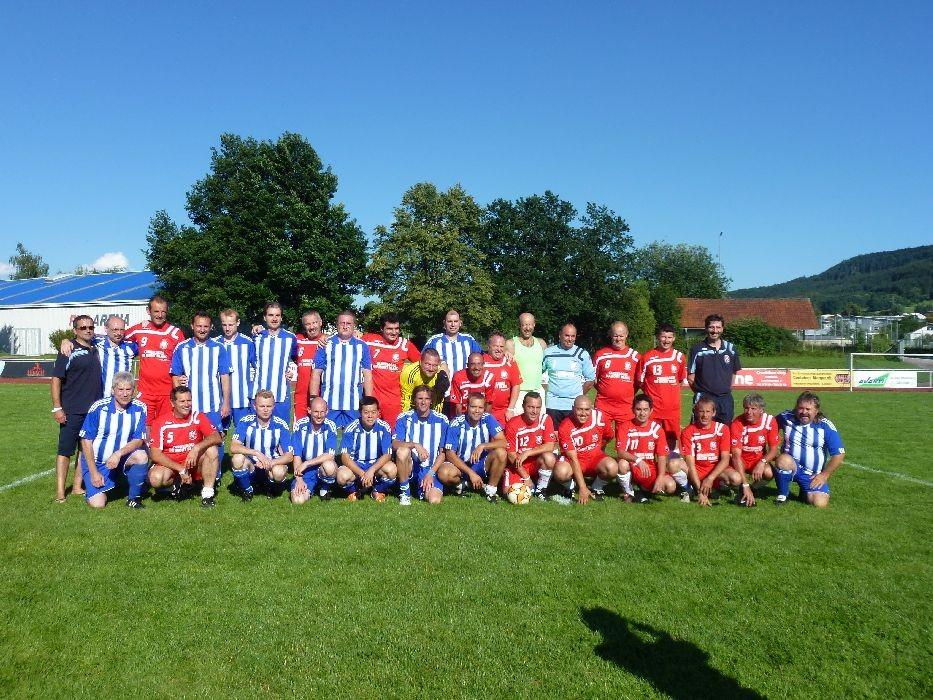 Freundschaftsspiel SVS - ASC Sallanches 2:2.