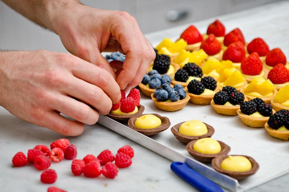 Mini Obst-Tartelettes