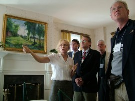 Tours of the house museum acquaint visitors with the events of Marshall's life (Photo: MTK)
